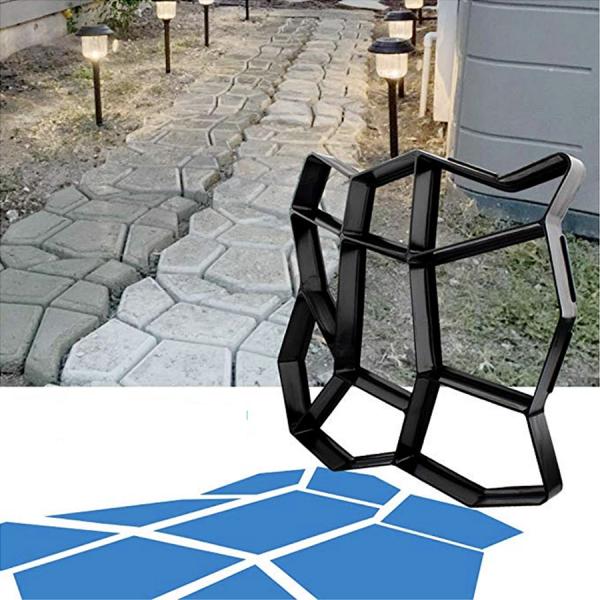 best irregular shape concrete paving molds