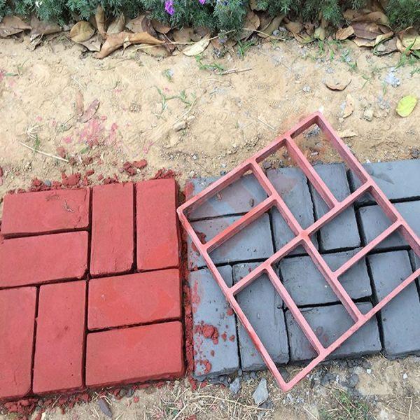 diy concrete driveway molds